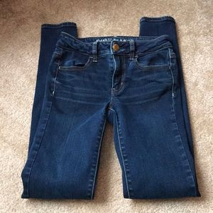 American Eagle denim jegging